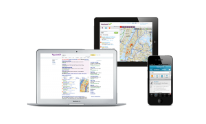 google maps screenshot on mobile and desktop