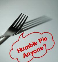 SEO Humble Pie